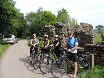 Hadrian's Cycleway Bike Tour Start
