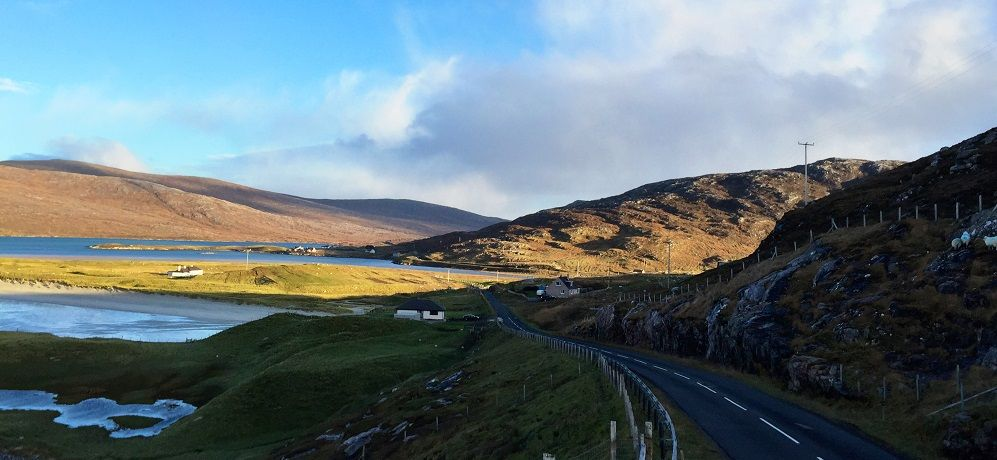 Harris road, Outer Hebrides